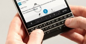 A Closer Look at the BlackBerry Passport's Keyboard