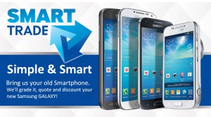 Samsung's Smart Trade will swap your current device for any Galaxy device.