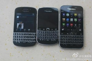 New images of the upcoming BlackBerry Classic surface