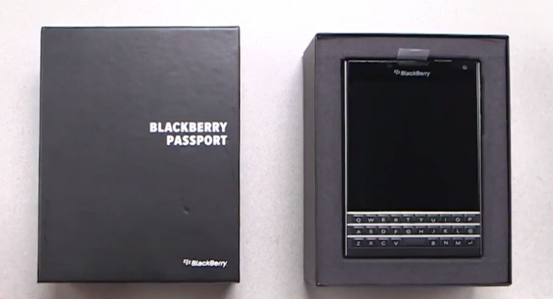 BlackBerry Passport Key Features, Unboxing and Hands On ...