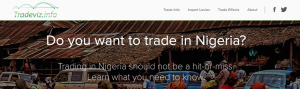 TraveViz, a trade advisory startup launches in Nigeria