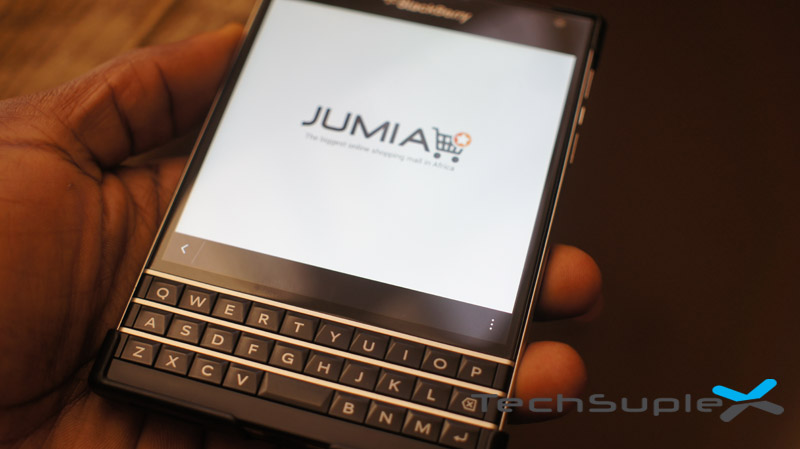 Jumia app for BlackBerry