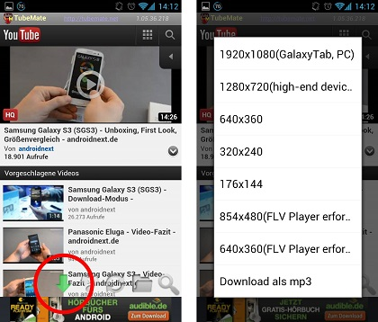 How to download youtube videos offline on your android phone tubemate download youtube video ccuart Gallery