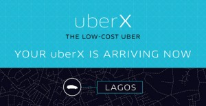 Uber X now available in Lagos