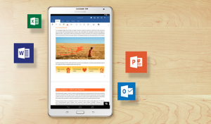 Microsoft Office for android tablets now available for download