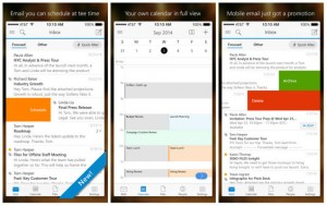 Microsoft releases Outlook on iOS and android