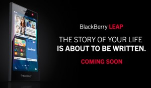 BlackBerry Leap, BlackBerry's newest device is now official