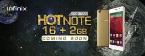 Infinix teases a 2GB variant of the Infinix Hot Note