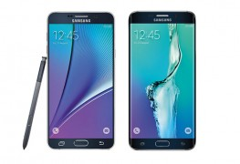 Samsung Note 5 and the Samsung Galaxy 6 Edge plus