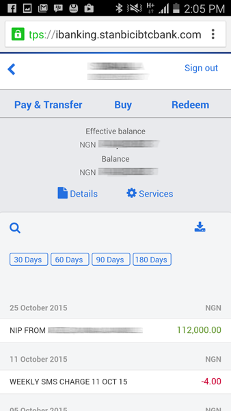 Stanbic IBTC Internet Banking mobile Review6
