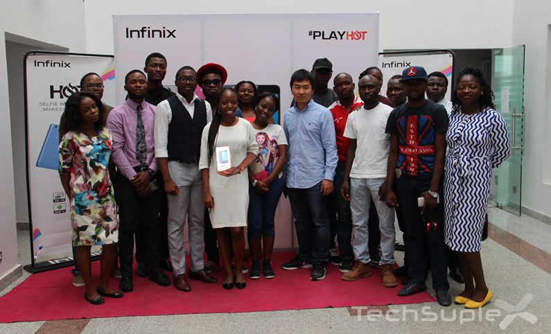 Infinix HOT 3 Unveiling with Nigerian Media