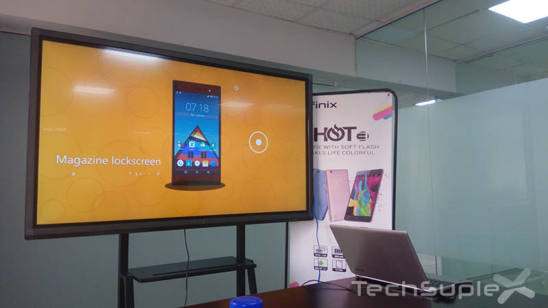 Infinix Hot 3 launch4