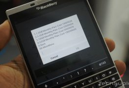 MTN new data plans on a BlackBerry Passport
