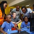 Mark Zuckerberg at CoCreation Hub Nigeria